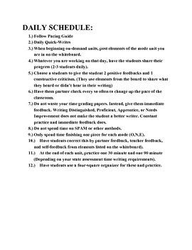 On-Demand Writing Grade 5
