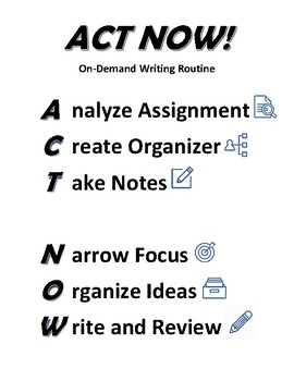 On Demand Writing Routine