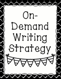 On-Demand Writing Strategy Posters