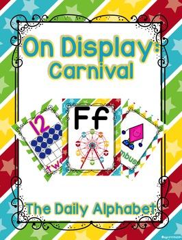 Circus/Carnival Classroom Decor