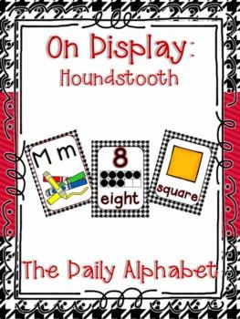 On Display ~ Houndstooth Classroom Decor