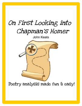 On First Looking into Chapman's Homer (John Keats) - Poetry Analysis