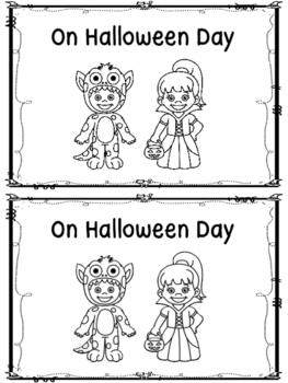 On Halloween Day -An Emergent Reader