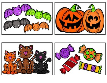 On Halloween (FREEBIE Pocket Chart Activity)