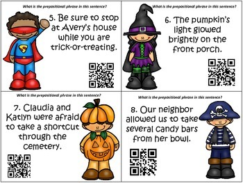 On Halloween In Search of Prepositional Phrases
