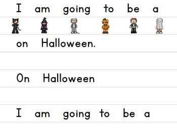 Halloween Guided Reading Book COMPLETE SET, Level C/3: On Halloween
