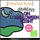 On Halloween Night Errorless Adapted Book