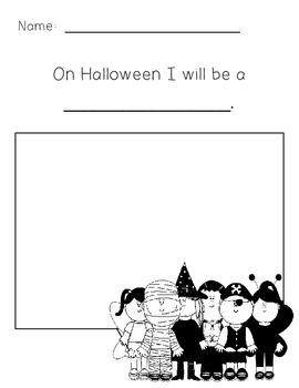 On Halloween Night Writing