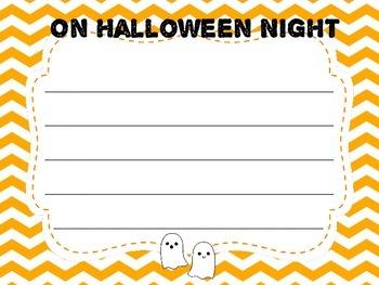 On Halloween Night-Writing Prompt