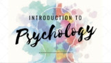 On Level Psychology | Introduction to Psychology PowerPoint & Guided Notes