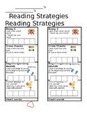 On Level Reading Behavior Bookmark