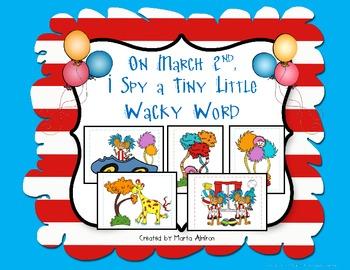 On MARCH 2nd, I Spy a Tiny Little WACKY WORD!