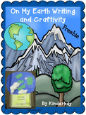 On My Earth Writing and Craftivity FREEBIE