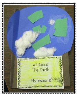 On My Earth Writing and Craftivity FREEBIE