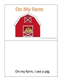 On My Farm Interactive book