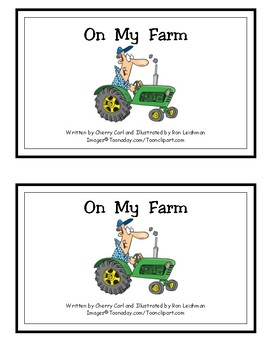 On My Farm Reproducible Guided Reader (-arm Wd Family)