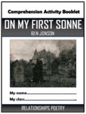 On My First Sonne - Ben Jonson - Comprehension Activities Booklet!