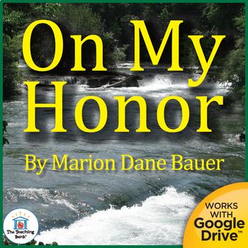 On My Honor Novel Study Book Unit
