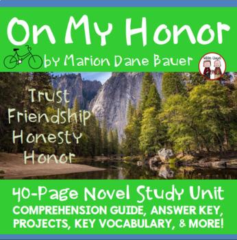 On My Honor Novel Unit