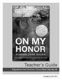 On My Honor Teachers Guide, Vocabulary Activities