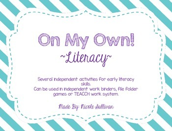 On My Own-Literacy