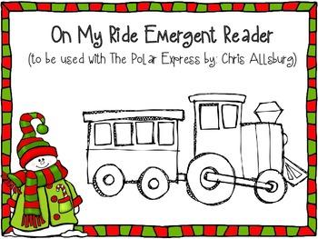 On My Ride Emergent Reader freebie