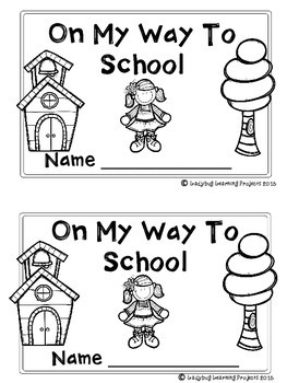 On My Way To School (A Sight Word Emergent Reader)