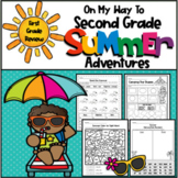 On My Way to Second Grade Summer Adventures-First Grade Review