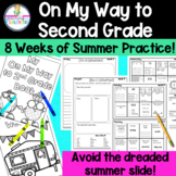 On My Way to Second Grade Summer Practice Packet