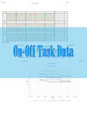 On-Off Data Excel Tracker and Graph (Behavior Tracker)
