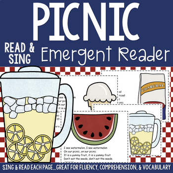 Picnic Shared Reading Read & Sing Early Reader