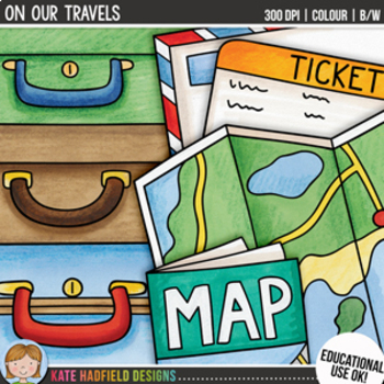 "Travel Clip Art: ""On Our Travels"""