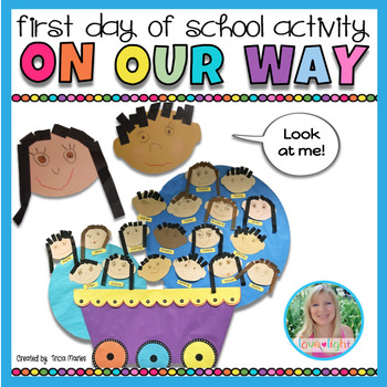 On Our Way - First Day of School Art Project