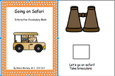 On Safari - An Interactive Adapted Book (Preschool, Speech Therapy, Autism)