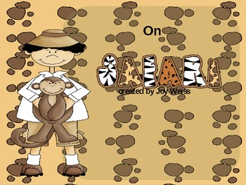 On Safari with Prepositions