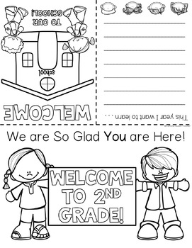 Back to School Booklet EDITABLE