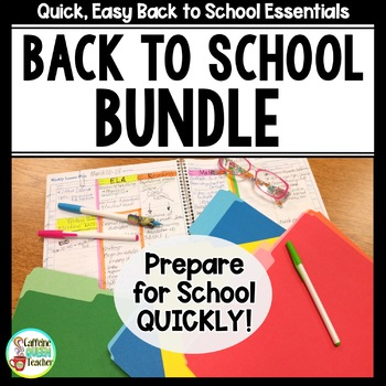 Back to School Essentials Bundle