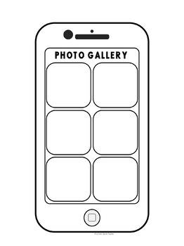 Cell Phone Activity - Editable!