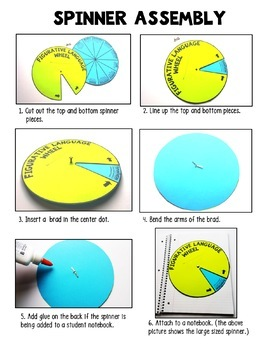 Figurative Language Dodecahedron Craft Activity