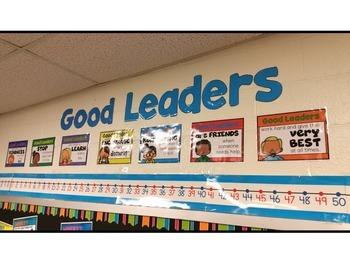Leadership Pledge Posters - Classroom Promises for Student Leaders