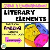 Story Elements and Literature Activity - Literary Elements