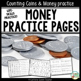 Money Counting Coins Worksheets