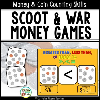 Money Scoot - Counting Coins Game Set