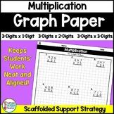 Multiplication Worksheets: 3-Digit Multiplication on Graph Paper