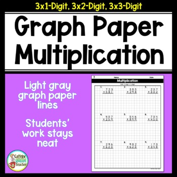 Division Graph Paper Teaching Resources Teachers Pay Teachers
