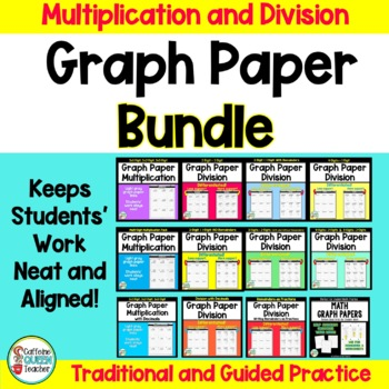 Multiplication and Division on Graph Paper Differentiated BUNDLE