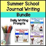 Summer School Journal Writing BUNDLE