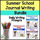 Summer School Journal Writing BUNDLE