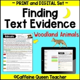 Reading Comprehension Passages Nonfiction Text Evidence