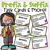 Prefix and Suffix Task Cards & More!